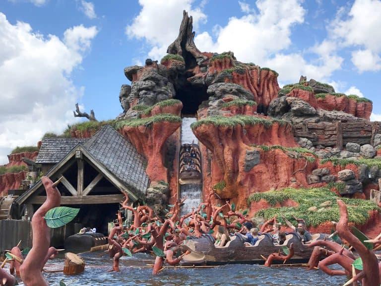 20 Best Rides at Disney World: Splash Mountain