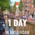 24 Hours in Amsterdam- What to See, Do, and Eat 1