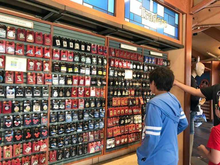 Disney pin trading: Disney Springs Pin Traders