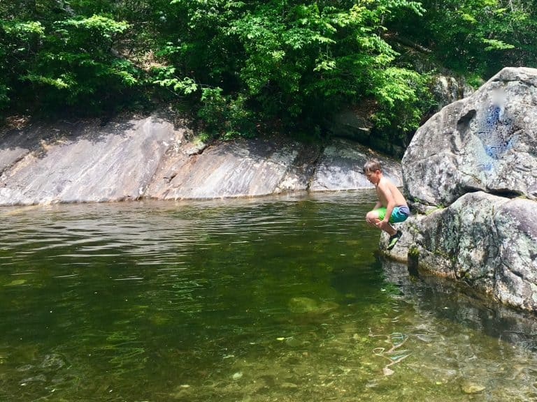 NC Mountain Vacations Sunburst Swimming Hole