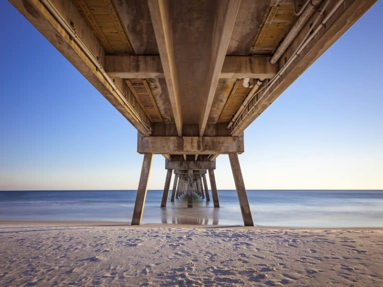 Things to do in Destin Florida with kids include visiting the Okaloosa Pier