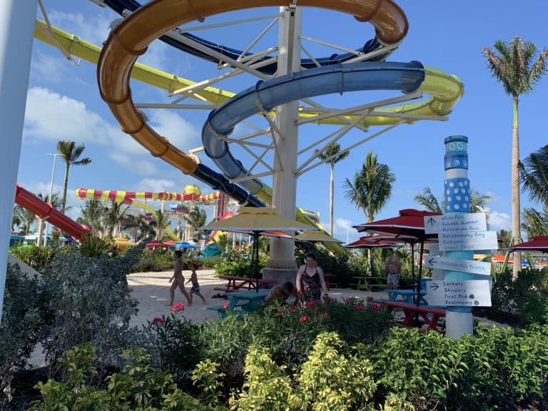 Royal Caribbean CocoCay Splash Summit