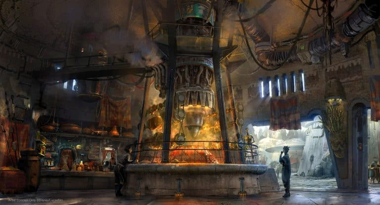 Ronto Roasters Podracer Spit at Star Wars: Galaxy's Edge