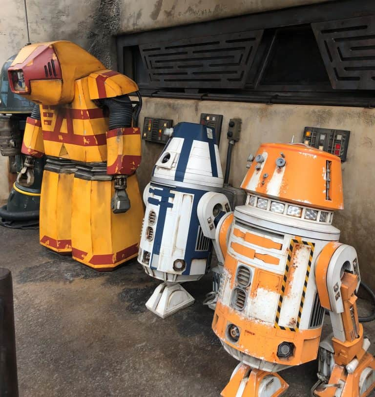 Star Wars Gakaxys edge droid