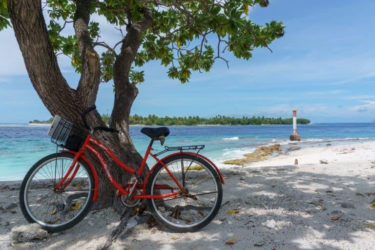 Bike in Rangiroa, Tahiti