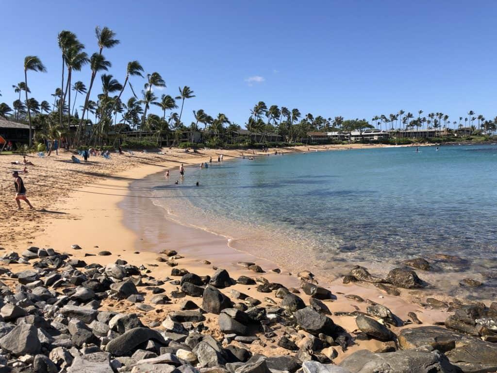 Maui with kids Napili Bay