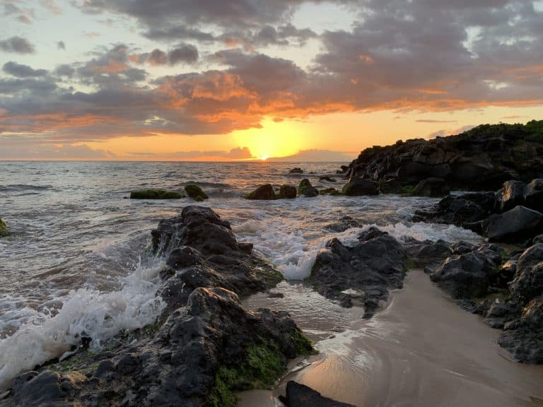 Wailea Beach sunset