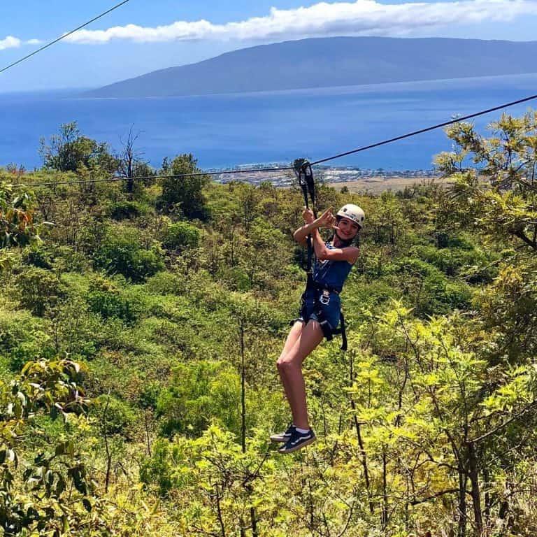 Zip Line in Maui