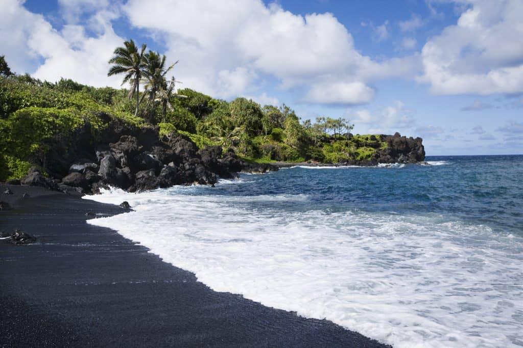 Black Sand Beach Maui