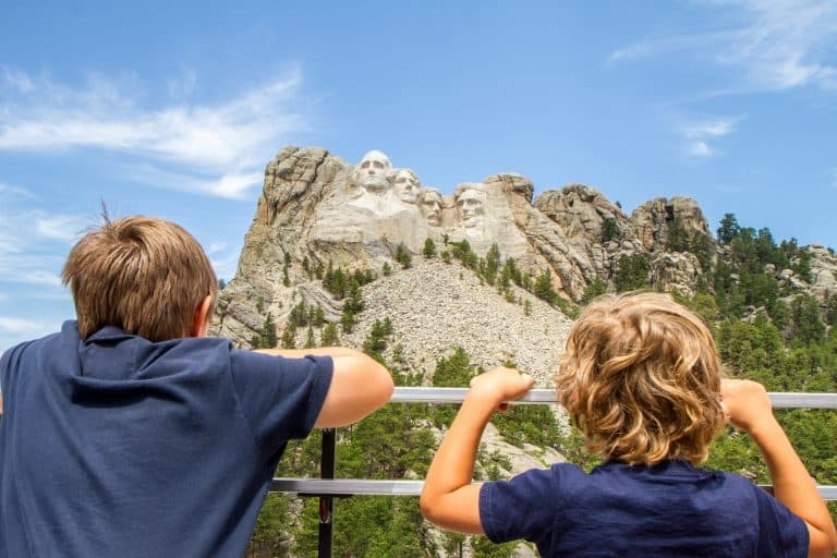 Mount Rushmore National Memorial is one of the best places to visit in South Dakota