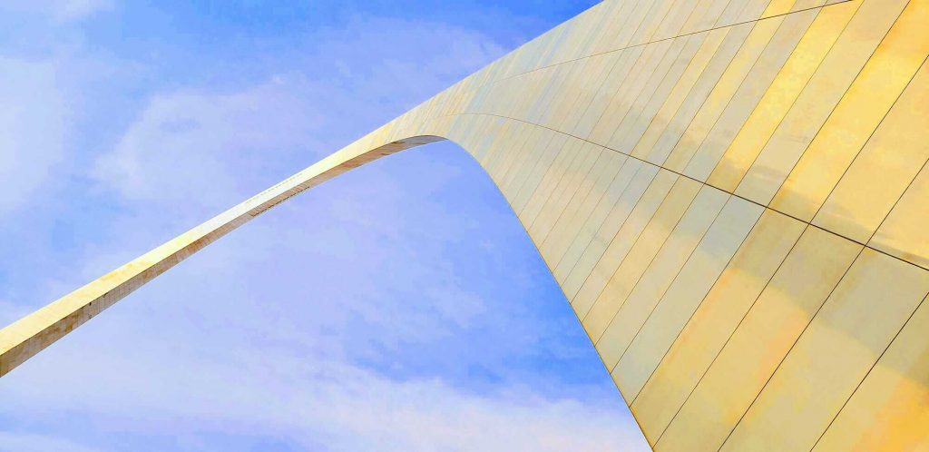 Gateway Arch National Park sits at the top of St. Louis and the top of our things to do in St Louis with kids list!