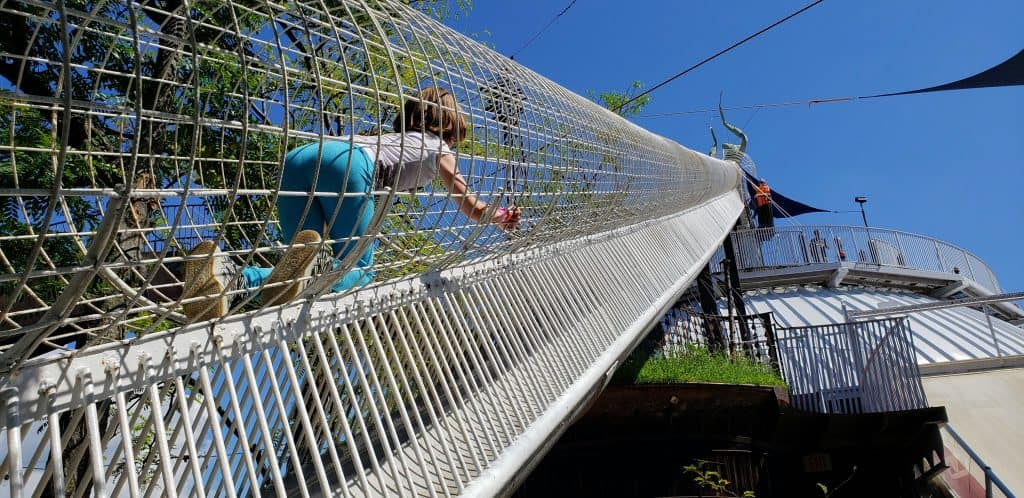 The City Museum is one of the best things to do in St. Louis with kids