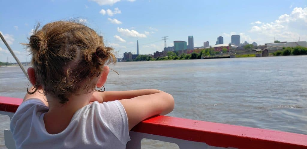Take in the view from the Mississippi River while in St. Louis