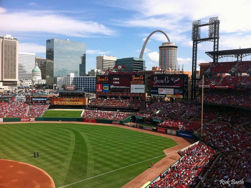 Busch stadium is a St. Louis icon families should visit