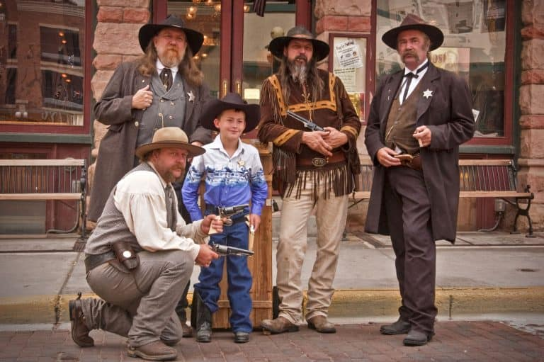 Visit the wild west in Deadwood where history comes alive