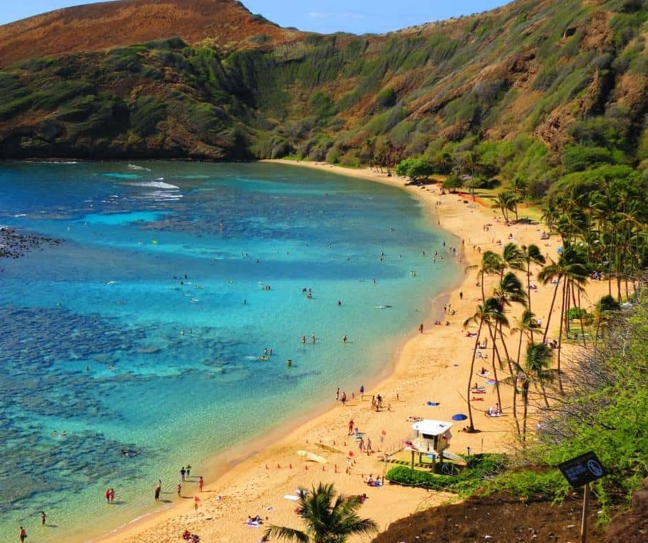 snorkel at Hanauma Bay on your Hawaii family vacation