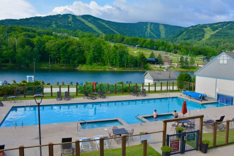 Killington Grand Resort Hotel Pool Killington Vermont