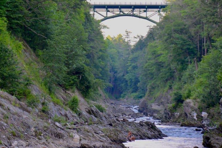 Vermont Quechee Gorge
