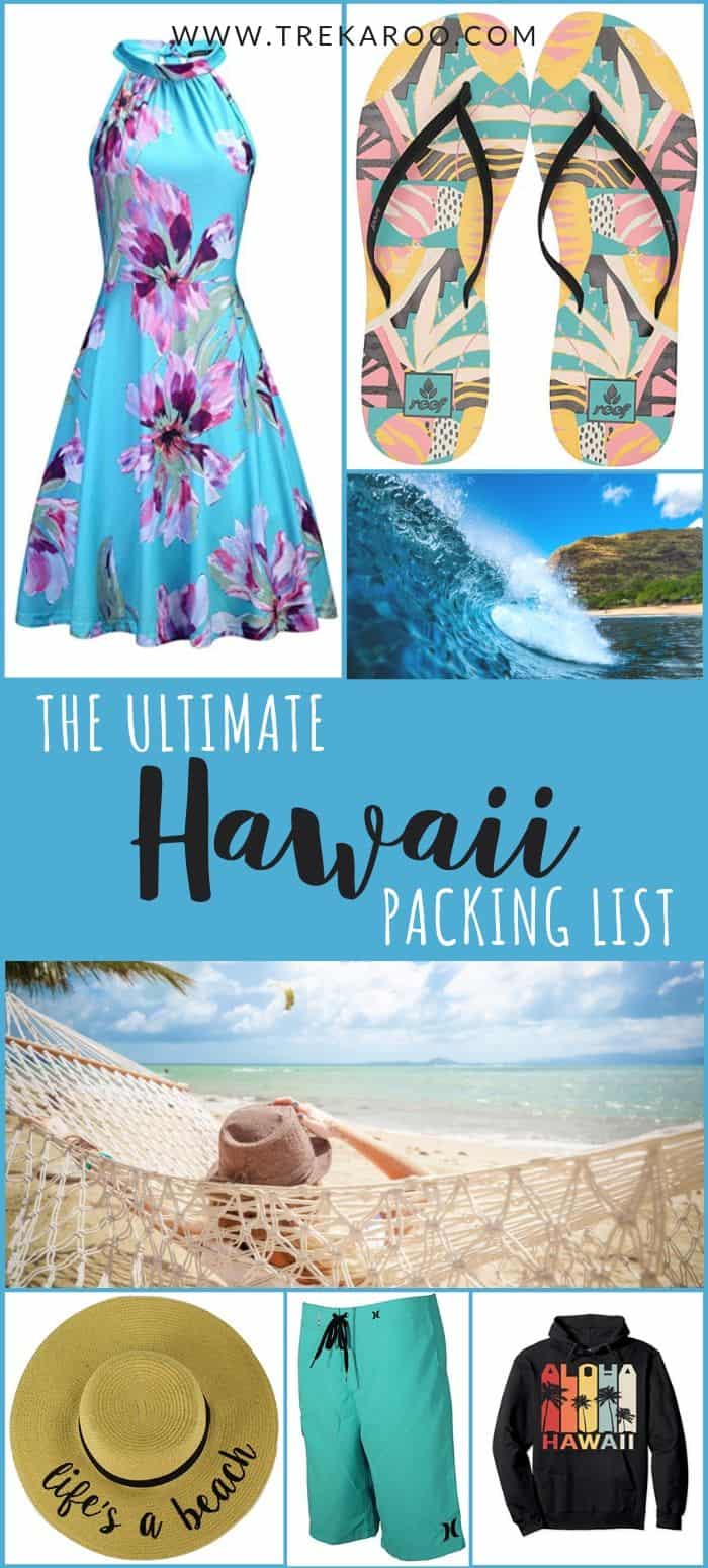 The Ultimate Hawaii Packing List For Families [with Free Printable List!] 2