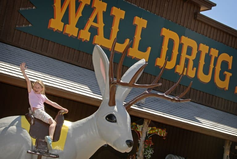 Wall Drug is a must stop destination in South Dakota