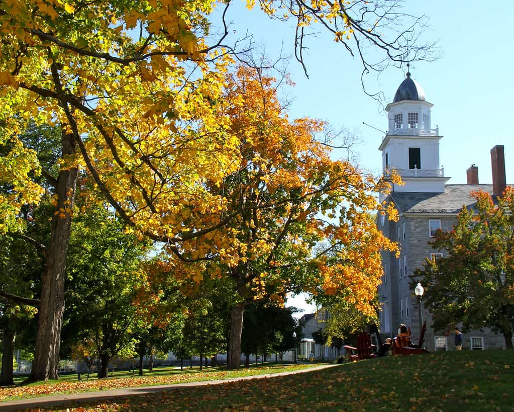 middlebury vt fall photo