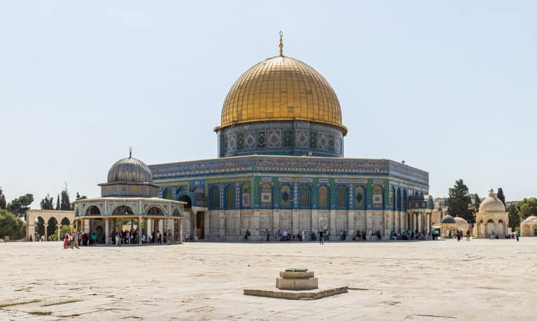 Dome of the Rock is one of the importatn things to see in Jerusalem
