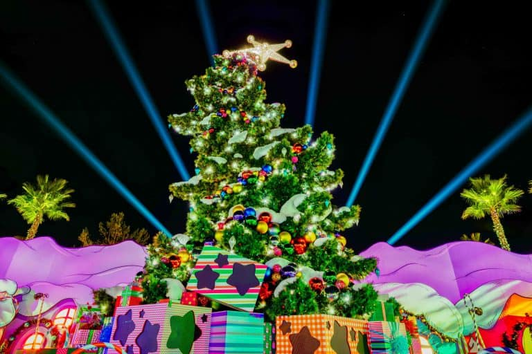 christmas, universal studios