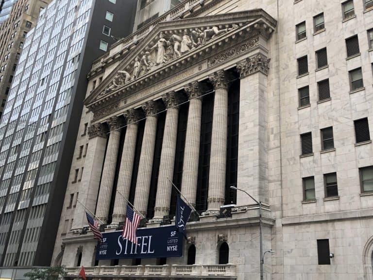 New York Stock Exchange in NYC