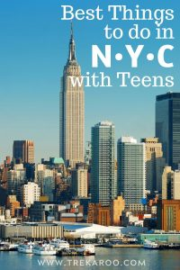 15 FUN Things to Do in NYC with Teens 1