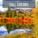 Fall in California | The 8 Best Places to See California Fall Color 1