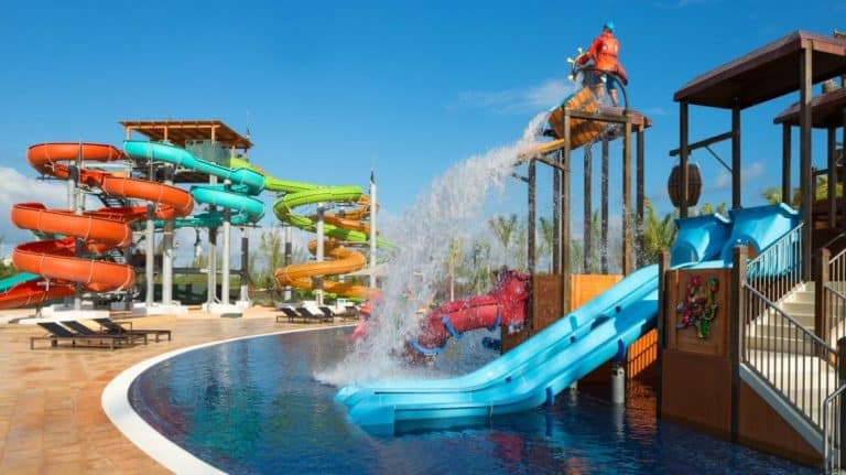 Families will love the mini-waterpark at the Royalton White Sands Resort | Photo by Royalton Resorts