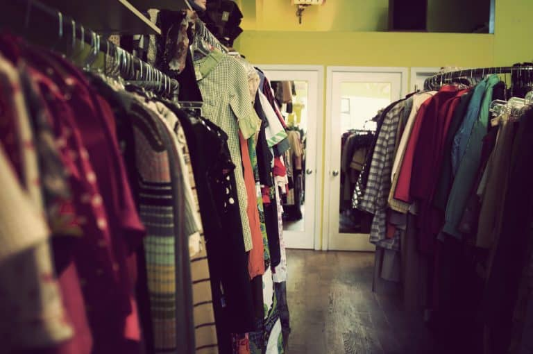 Vintage clothes shopping in NYC with teens