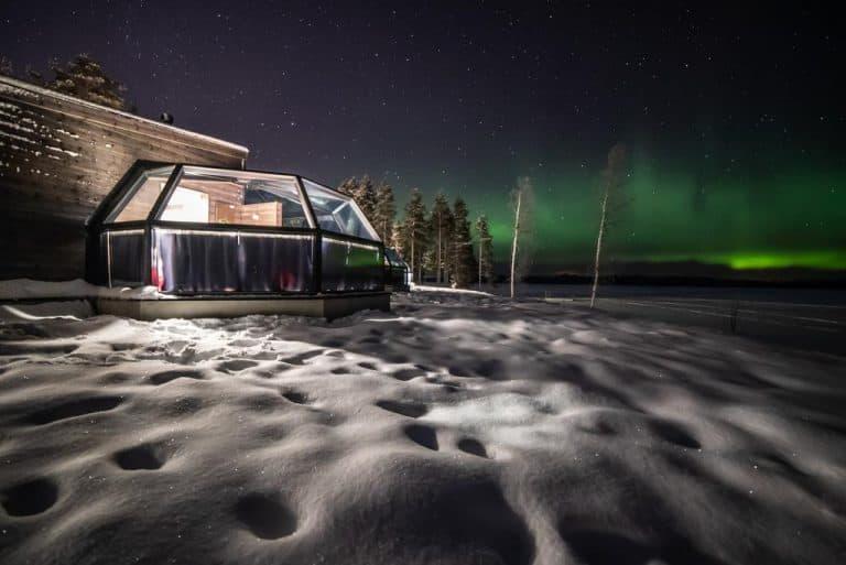 Glass Igloo Finland: Arctic Fox Igloos - Rovaniemi