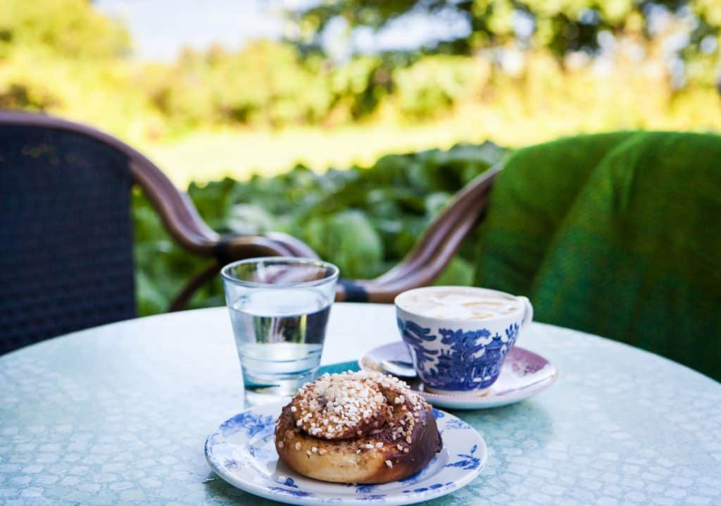 Finland Cinnamon Rolls and Coffee
