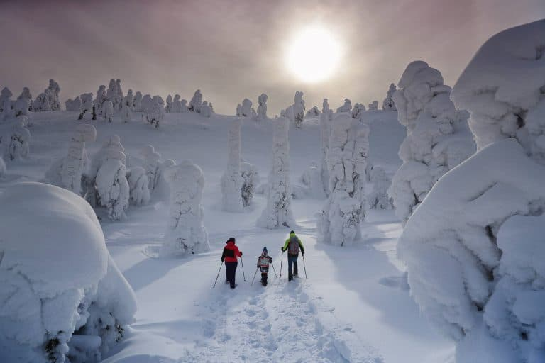 Finland in the Winter -Ruka Kuusamo