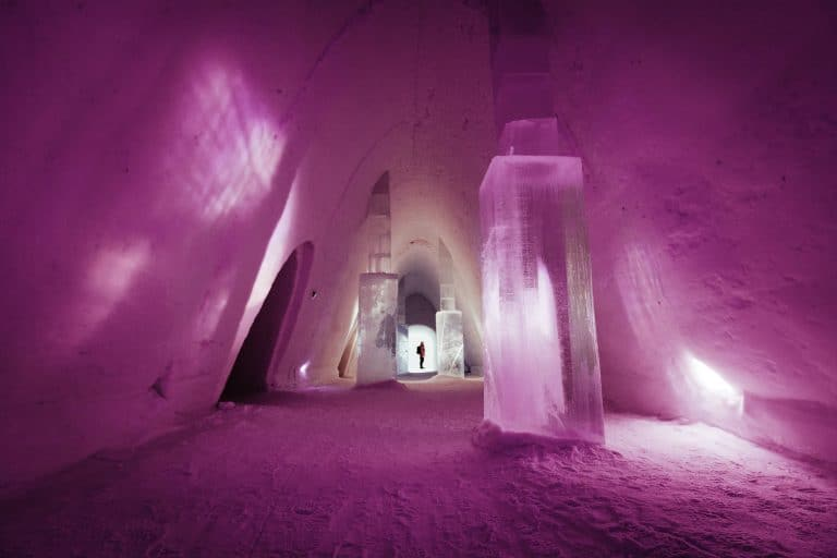 Finnish Lapland-Kami Snow Castle