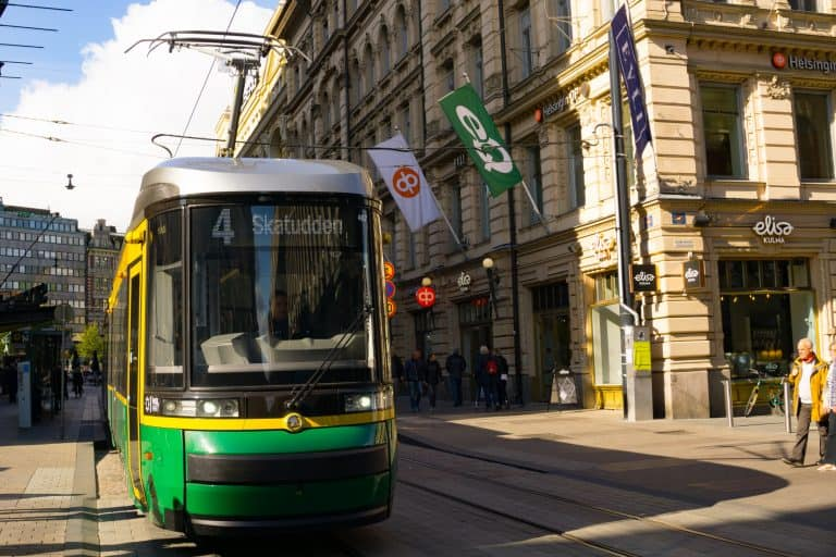 Getting around Helsinki by Tram