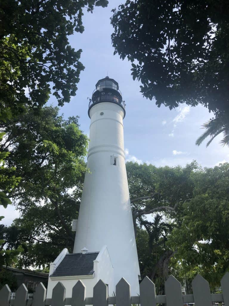 things to do in Key West include climbing to the top of the Key West Lighthouse