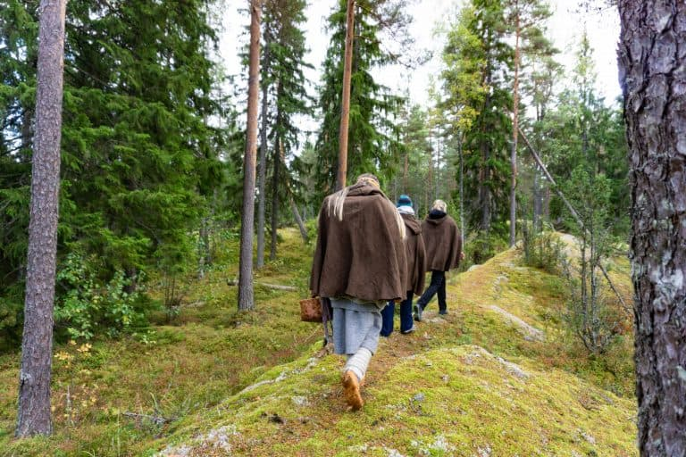 Finland: Magic of Nuuksio Folklore Hike with Nuuksion Taika