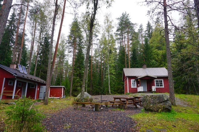 Finland - Nuuksio National Park - Tikkankolo Wilderness Hut