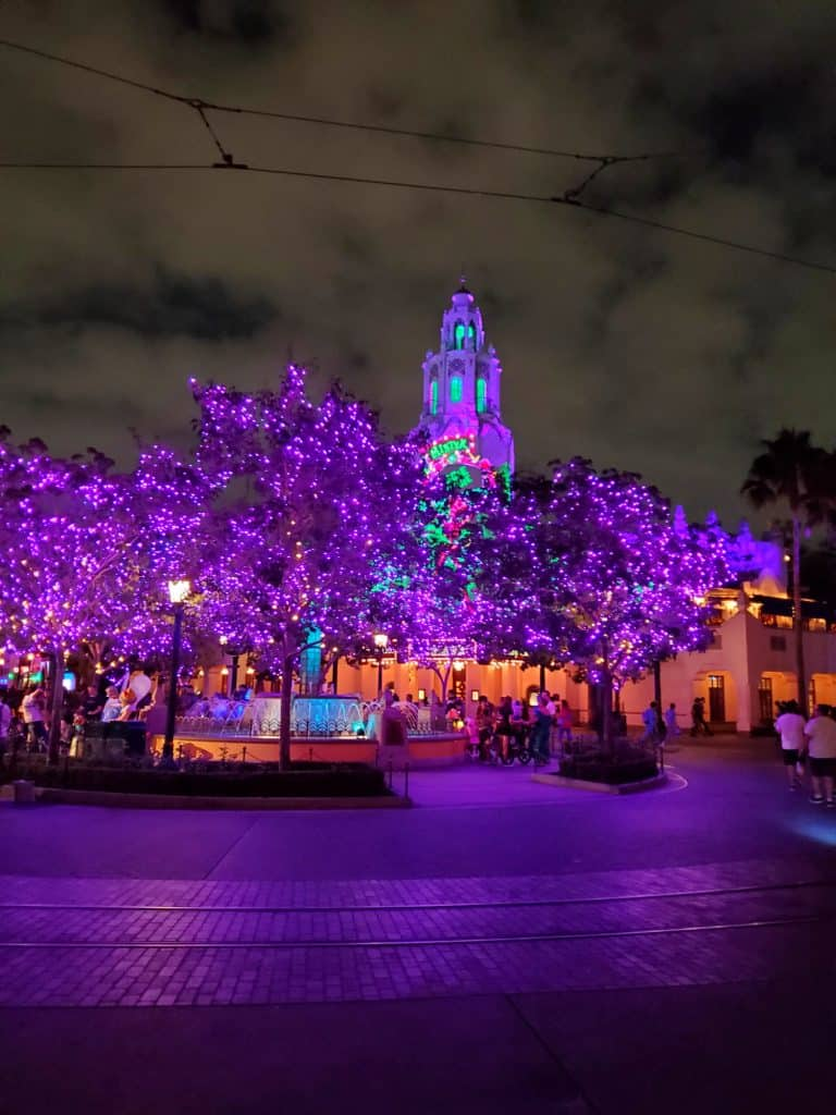 Halloween at Disney California Adventure features colorful decorations for the Halloween season | Photo by Katie Bodell