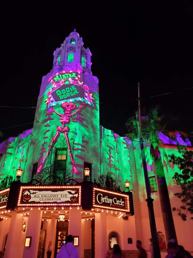 Enjoy the Oogie Boogie Bash at Disney California Adventure Photo by Katie Bodell