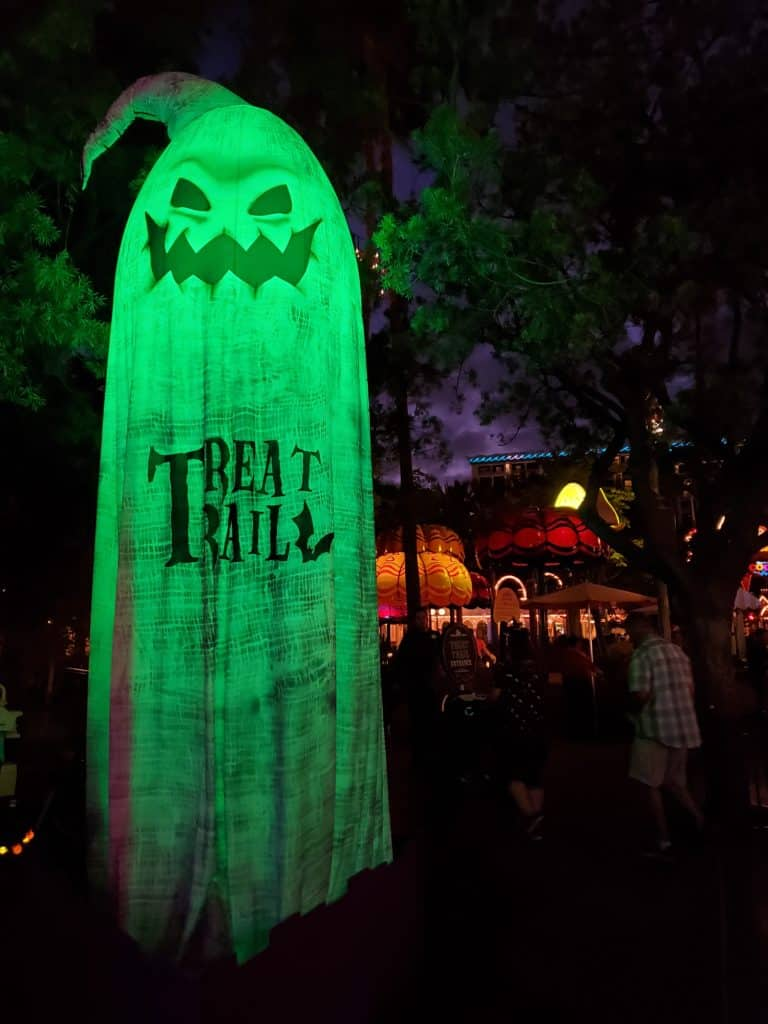 The treat trails at the Oogie Boogie Bash are your ticket to yummy goodies | Photo by Katie Bodell