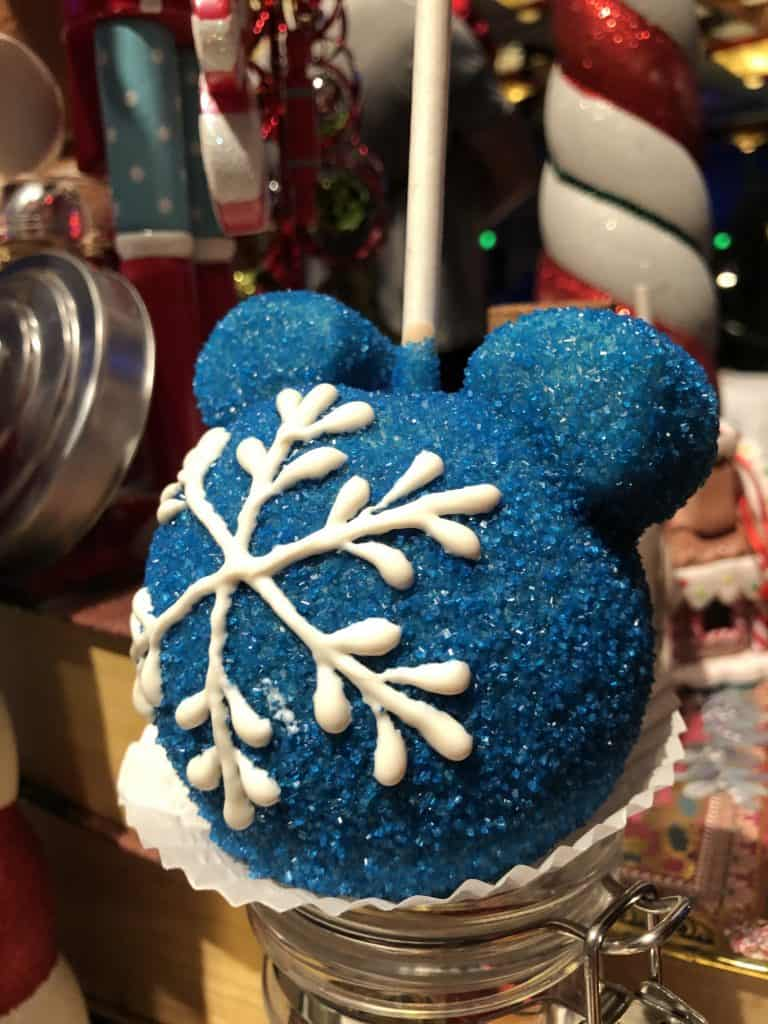 Christmas candy apple