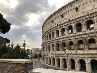 Rome Colosseum Tours outside