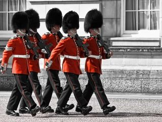CHangin of the Guard at Buckingham Palace