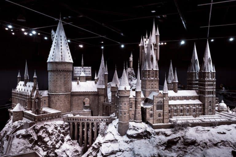 Hogwarts Model at the London Studio Tour