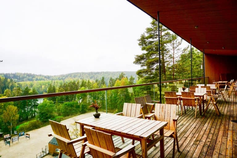Haltia Restaurant Terrace - Nuuksio National Park