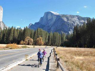 Yosemite Biking in the Fall