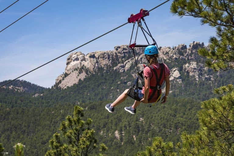 Aerial Adventures at Rushmore Tramway